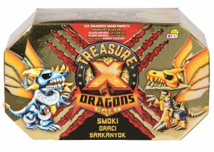 TREASURE X S2 DRAGONS GOLD SMOK POJEDYNCZY 41508 COBI