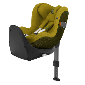 CYBEX SIRONA Z I-SIZE PLUS MUSTARS YELLOW FOTELIK 0-18 KG DO BAZY BASE Z OBROTOWY