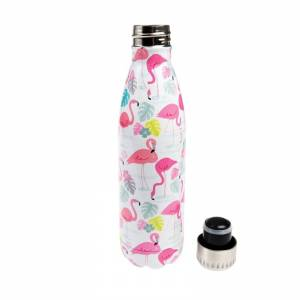 REX LONDON BUTELKA TERMICZNA STALOWA 500 ML FLAMINGO BAY